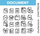 digital  computer documents ... | Shutterstock .eps vector #1446798248