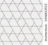 seamless vector pattern.... | Shutterstock .eps vector #1446813515