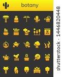 botany icon set. 26 filled... | Shutterstock .eps vector #1446820448