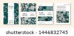 fluid paint  clay texture... | Shutterstock .eps vector #1446832745