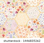 Patchwork Seamless Pattern From ...