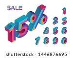 15  sale. 0  1  2  3  4  5  6 ... | Shutterstock .eps vector #1446876695