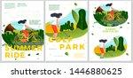 vector summer typographic... | Shutterstock .eps vector #1446880625