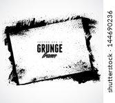 grunge frame for multiple... | Shutterstock .eps vector #144690236