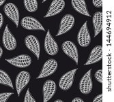 paisley vector seamless pattern.... | Shutterstock .eps vector #144694912