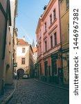 prague  czech republic  ... | Shutterstock . vector #1446967382
