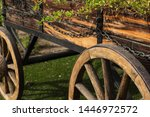 Rustic Wooden Wagon Wheel...