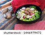tuna fume of rice cook radish... | Shutterstock . vector #1446979472
