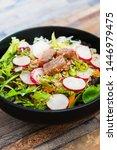tuna fume of rice cook radish... | Shutterstock . vector #1446979475