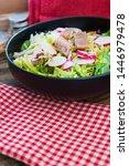 tuna fume of rice cook radish... | Shutterstock . vector #1446979478