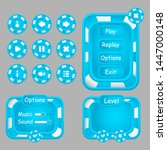 ui elements. windows  menu ...