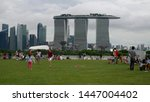 singapore  singapore june 1 ... | Shutterstock . vector #1447004402