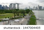 singapore  singapore june 1 ... | Shutterstock . vector #1447004405