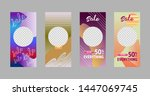covers templates set with... | Shutterstock .eps vector #1447069745