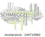 word cloud    smuggling | Shutterstock . vector #144715882
