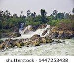 Khone Phapheng Falls In South...