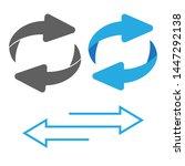 rotating  circular  cyclic... | Shutterstock . vector #1447292138