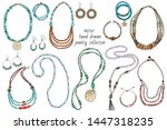 vector collection of bright...   Shutterstock .eps vector #1447318235