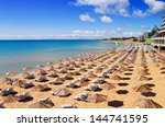 south beach of nessebar in... | Shutterstock . vector #144741595