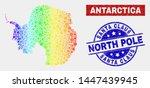 tools antarctica continent map... | Shutterstock .eps vector #1447439945