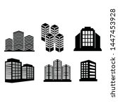 building vector design icon... | Shutterstock .eps vector #1447453928