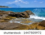 Beautiful Seascape With Stones...