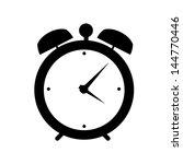 clock alarm icon vector...