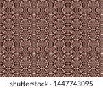 fleece background with a wicker ... | Shutterstock . vector #1447743095