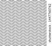 simple wavy stripes pattern ... | Shutterstock .eps vector #1447760762