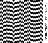 dense chevron pattern design ... | Shutterstock .eps vector #1447764698