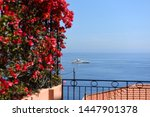 beautiful view on the sea and... | Shutterstock . vector #1447901378