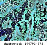 grunge image with a plot... | Shutterstock . vector #1447934978