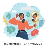 cartoon vector illustration of... | Shutterstock .eps vector #1447952228