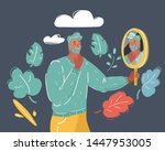 cartoon vector illustration of... | Shutterstock .eps vector #1447953005