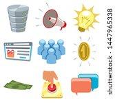 part 2 of my cartoon internet...   Shutterstock .eps vector #1447965338