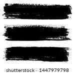 grunge paint lines. grunge... | Shutterstock .eps vector #1447979798
