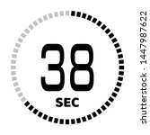 the 38 second countdown timer...