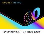 vector isometric gradient... | Shutterstock .eps vector #1448011205