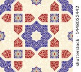 Seamless Colorful Patchwork In...
