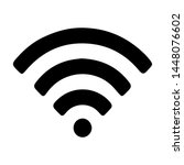 wifi icon for interface... | Shutterstock .eps vector #1448076602