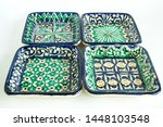 set of uzbek national dishes...   Shutterstock . vector #1448103548