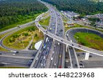 view from the air on the... | Shutterstock . vector #1448223968