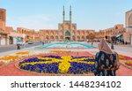 the amir chakhmaq complex is a... | Shutterstock . vector #1448234102