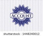 blue passport money rosette...   Shutterstock .eps vector #1448240012