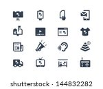advertising icons | Shutterstock .eps vector #144832282