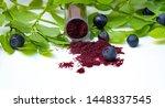 Blueberry Or Bilberry Powder....
