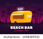 beach bar  summer time. bar...   Shutterstock .eps vector #1448385932