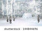 Vector Of Winter Snowy...