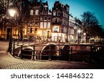 one of the famous canals of... | Shutterstock . vector #144846322