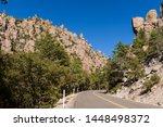 organ pipe formation at...   Shutterstock . vector #1448498372